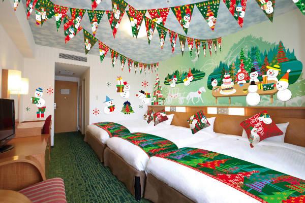 クリスマスルーム USJホテル