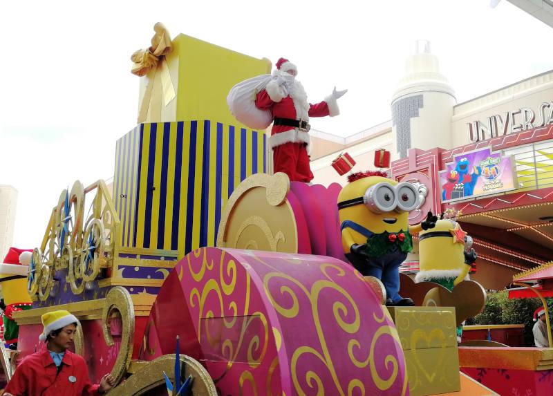 ミニオンクリスマスパレード