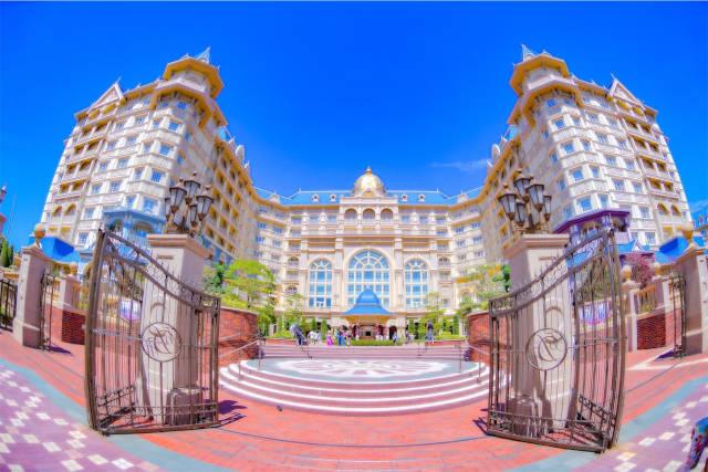 ディズニーホテルに宿泊