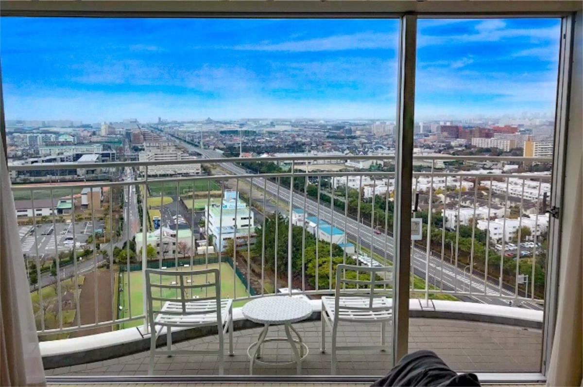 ホテルエミオンからの眺望