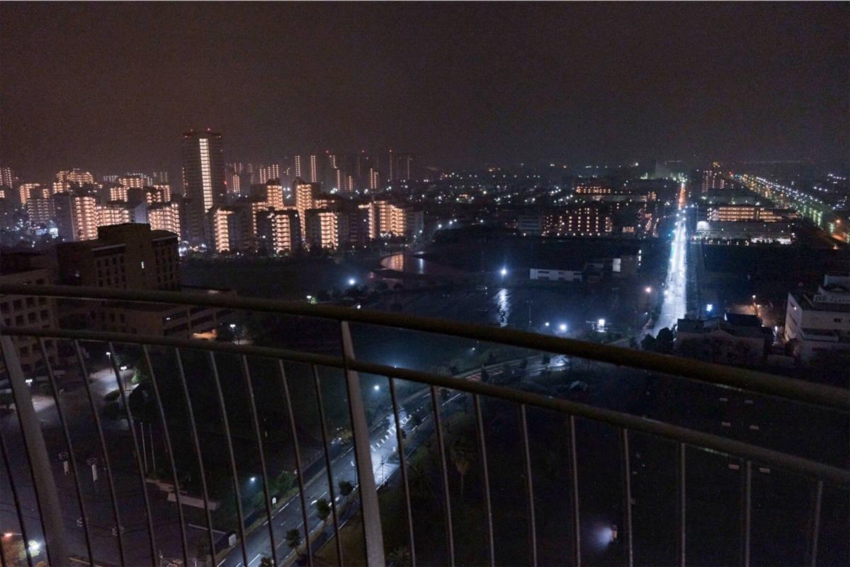 ホテルエミオンからの夜景