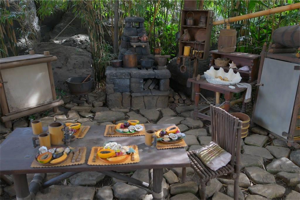 スイスファミリーツリーハウス キッチン