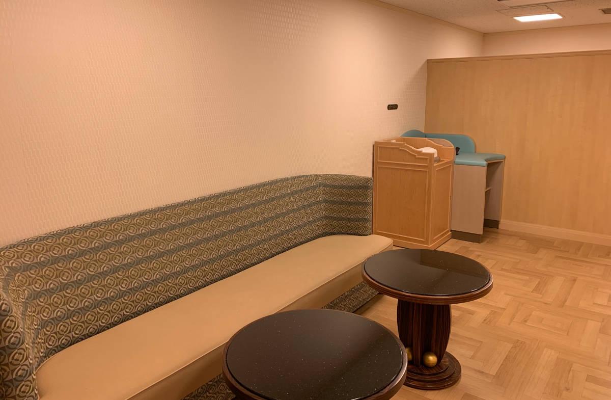 アンバサダーホテル 授乳室