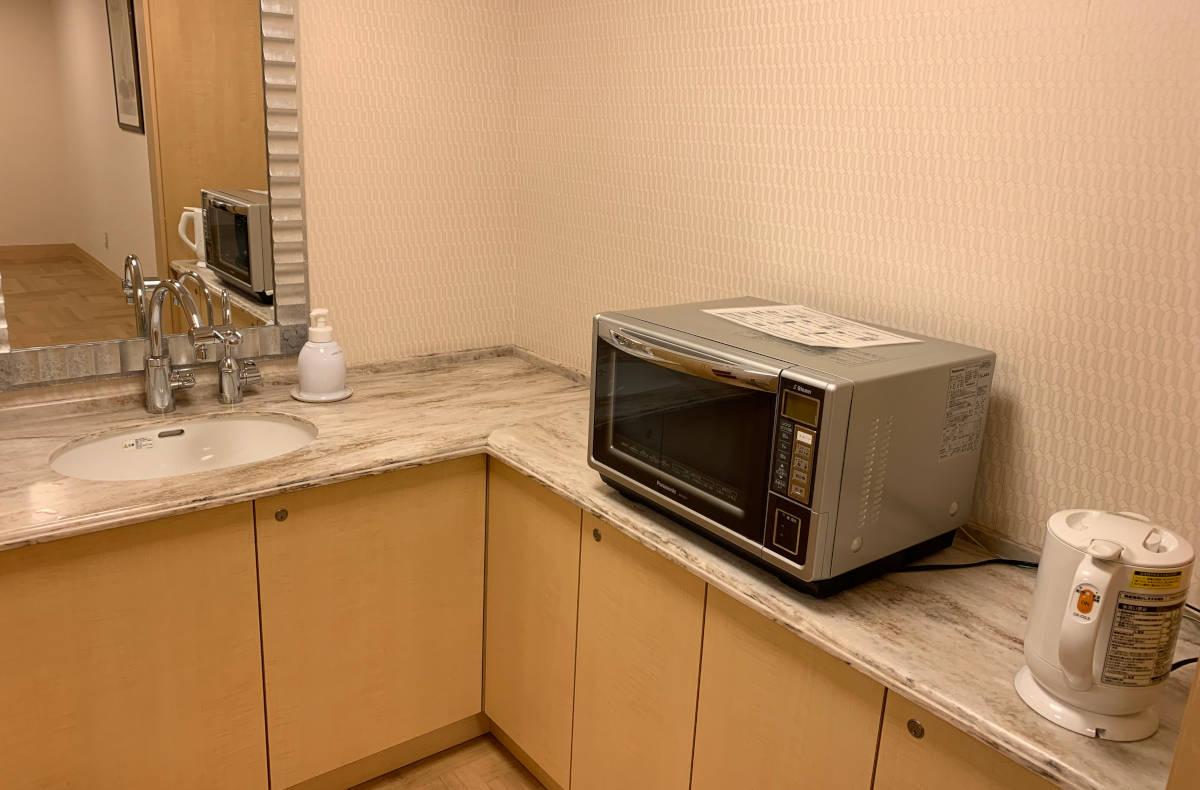 アンバサダーホテル シェフミッキー 授乳室 電子レンジ