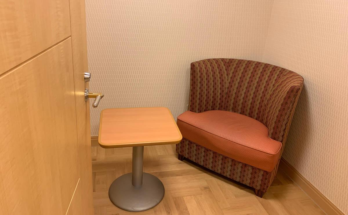 アンバサダーホテル 授乳スペース