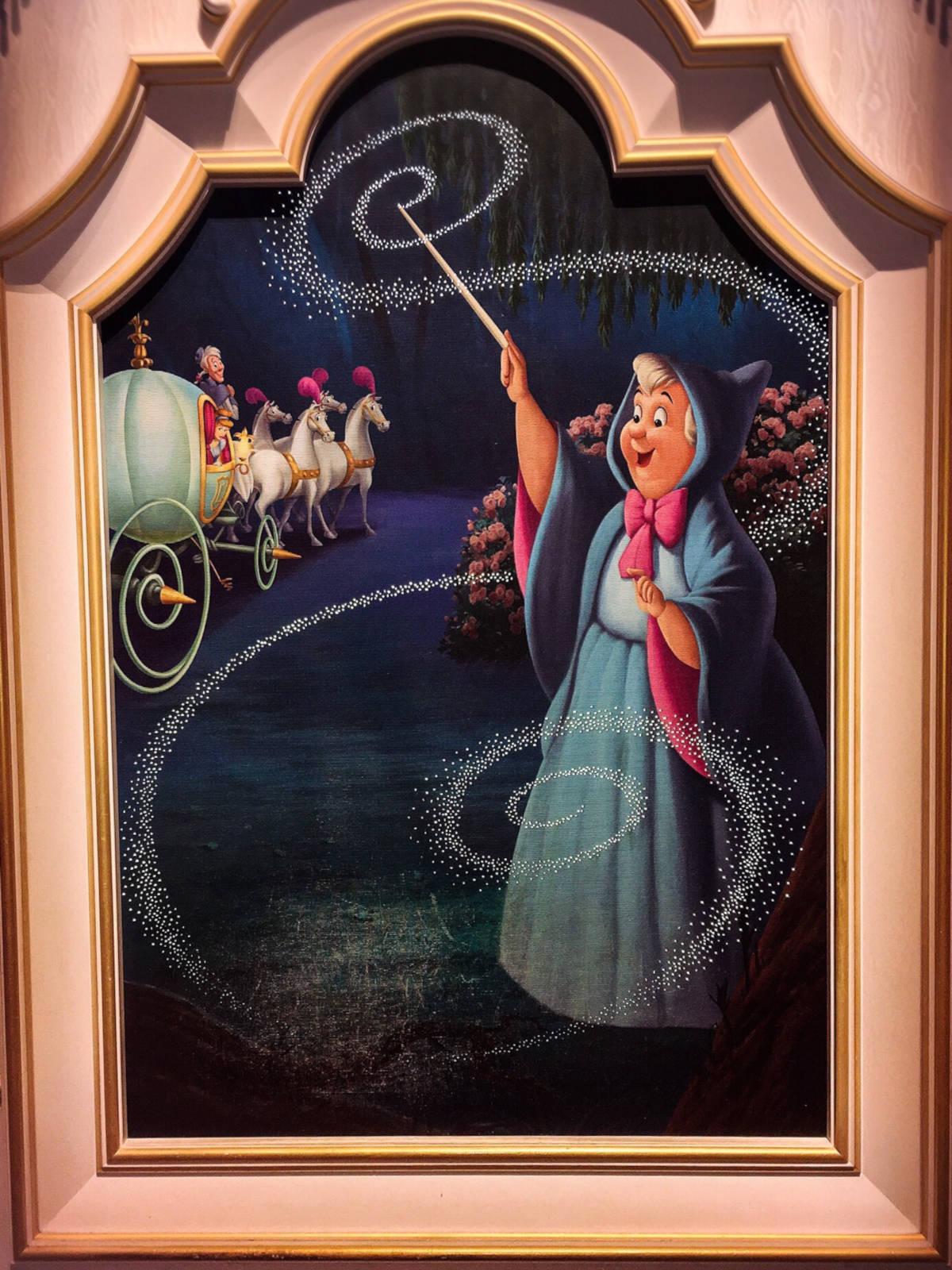 フェアリーゴッドマザーの壁画