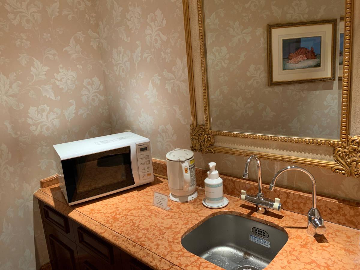 ディズニーランドホテル授乳室 設備