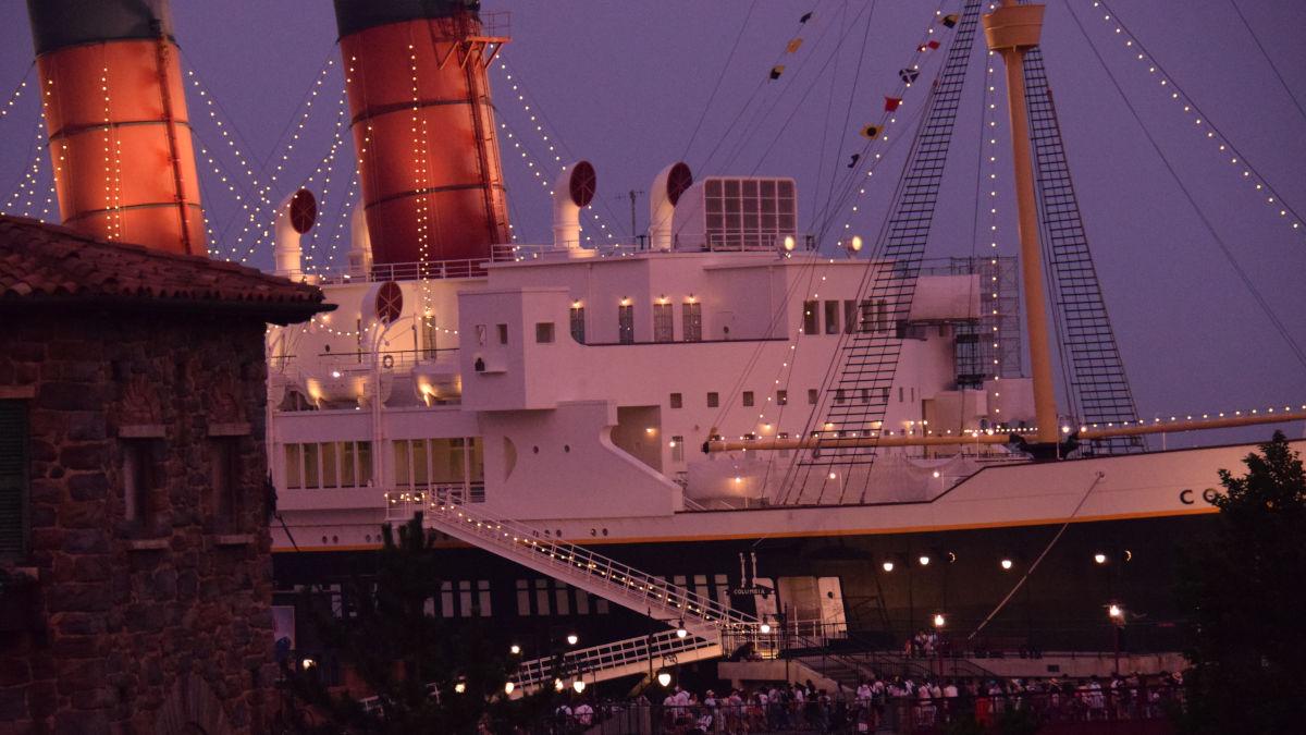 SSコロンビア号 ディズニーシー船