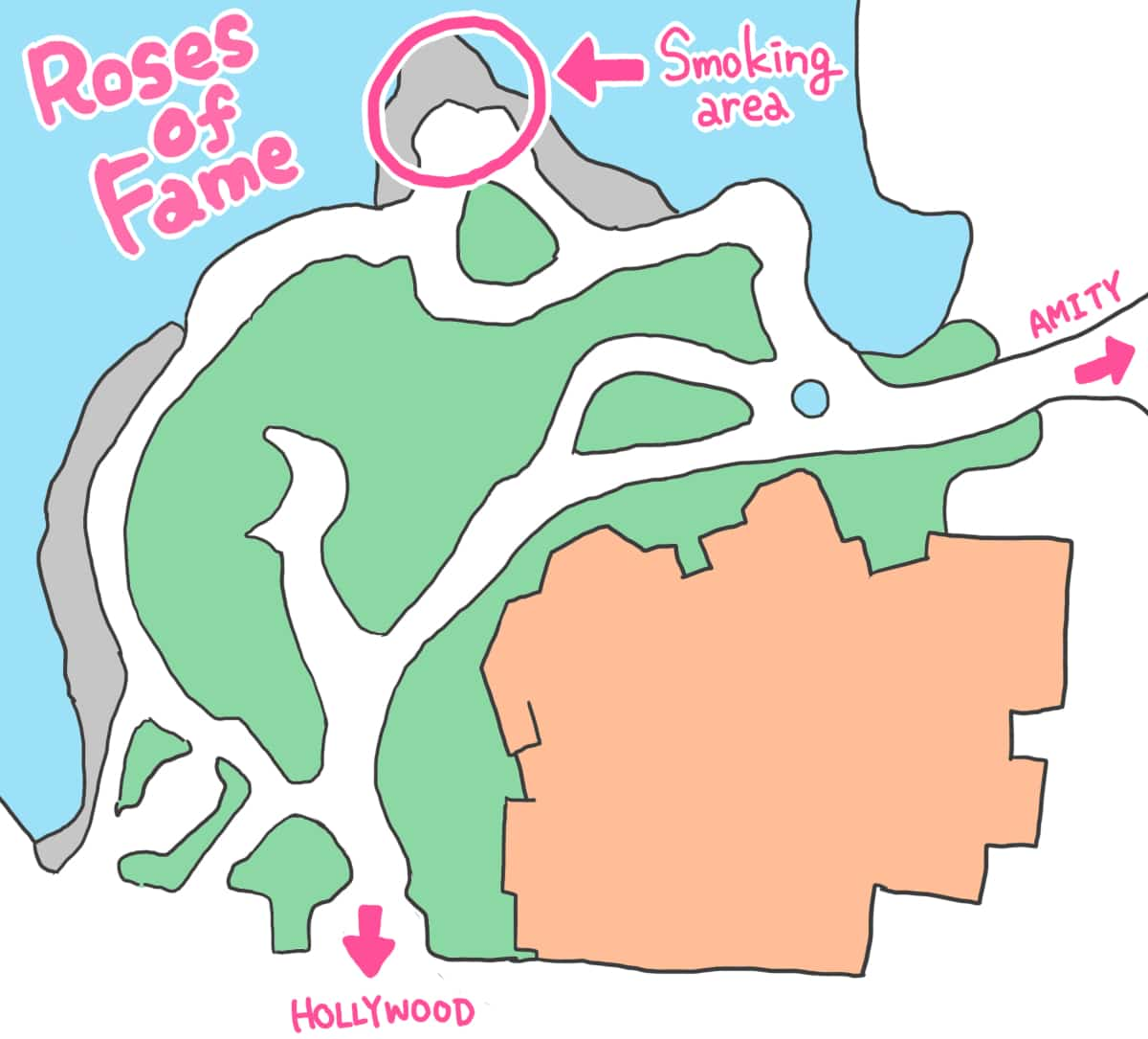 ロードオブフェイム地図