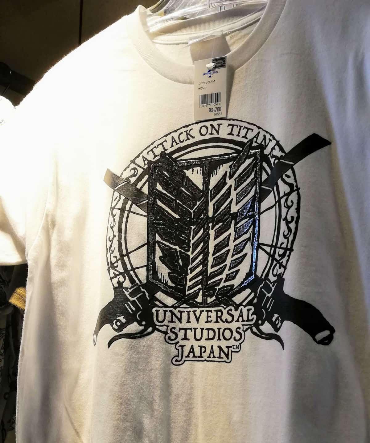 進撃Tシャツ