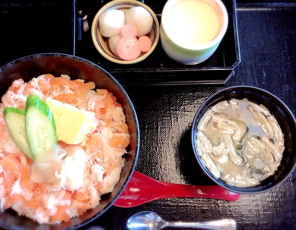 ちらし寿司の定食