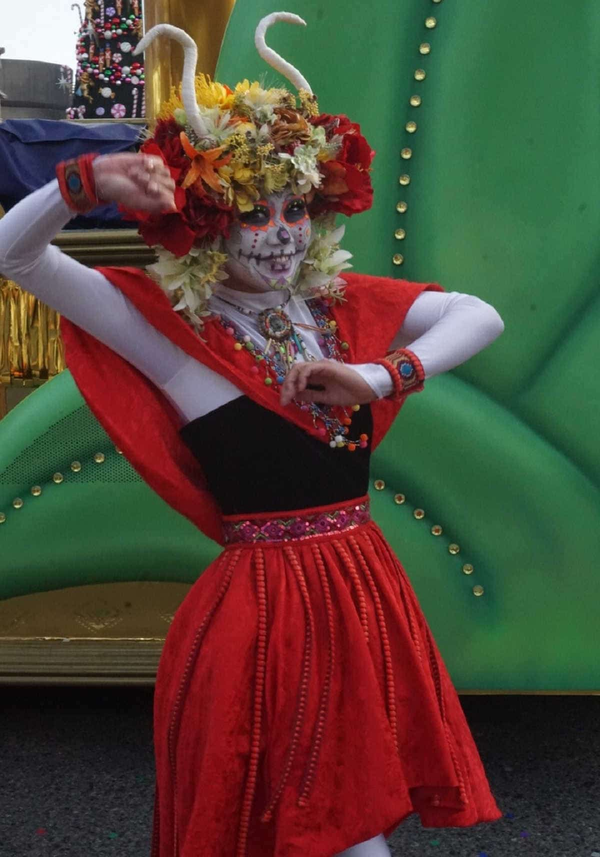 フェスタデパレード 女ダンサー