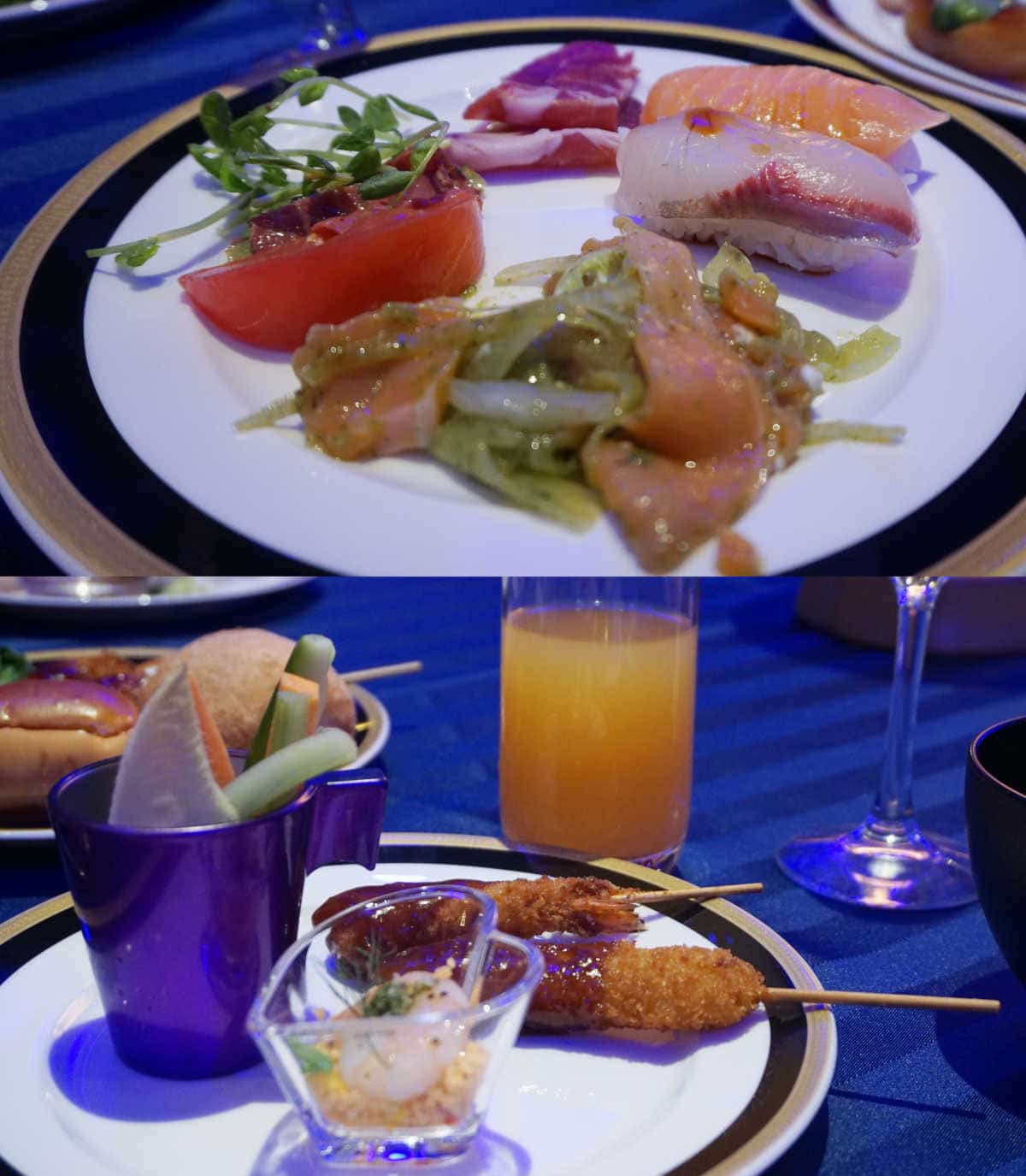 USJ貸切ショー 料理