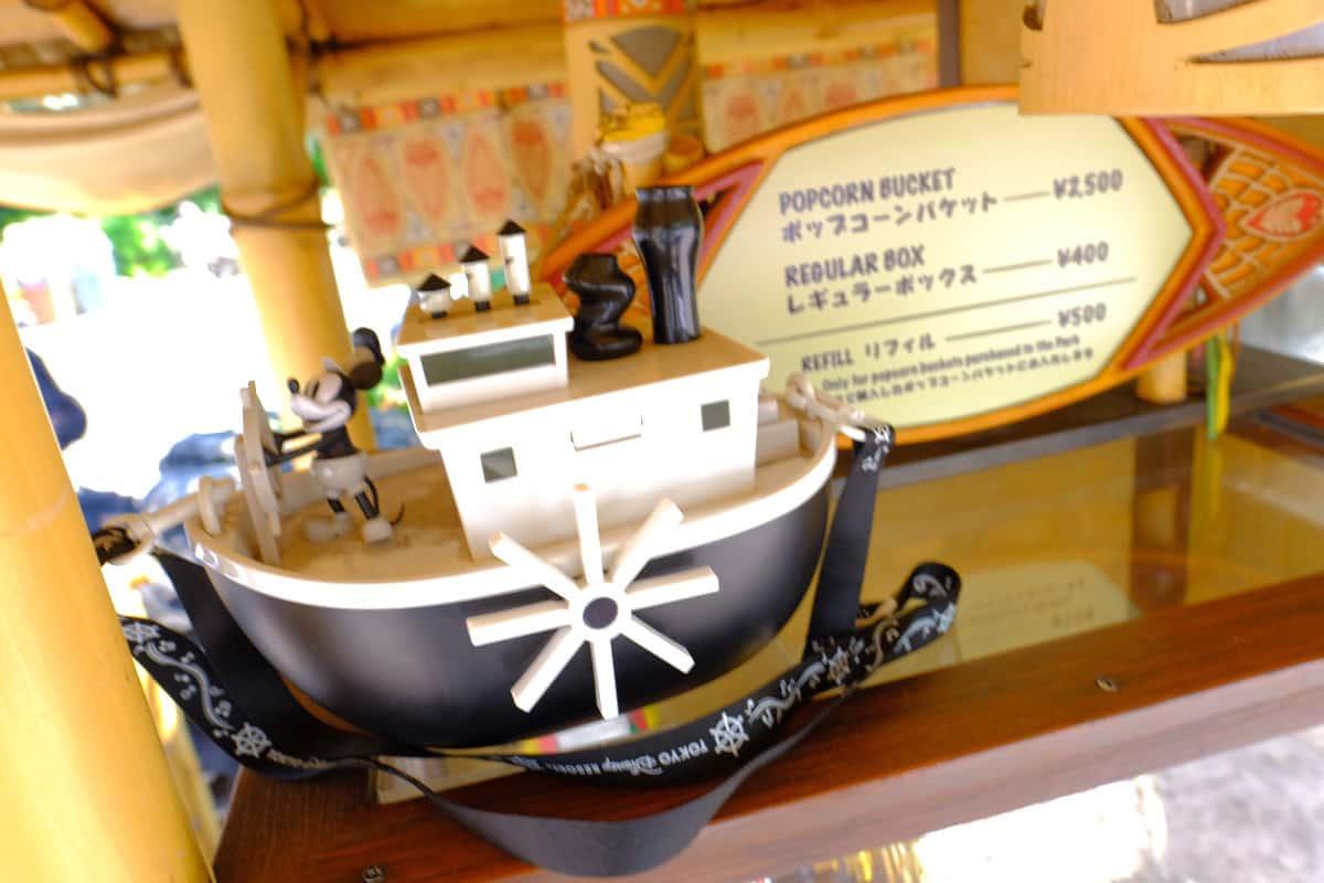 ポップコーンバケット 蒸気船ウィリー
